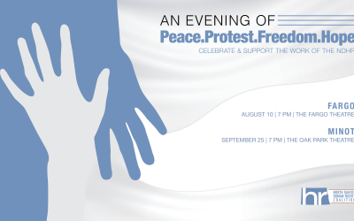 Peace. Protest. Freedom. Hope.
